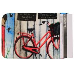 Tapete de Banheiro em Microfibra 40x60cm Estampa Bicicleta - Casanova