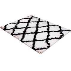 Tapete de Banho em Poliéster Levitare Descanso 70x50cm Preto - Casa Etna