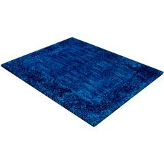Tapete de Banho em Poliéster Levitare Tranquilidade 70x50cm Azul - Casa Etna