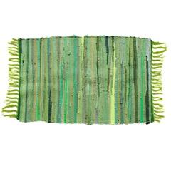 Tapete em Algodão 80x50cm Verde
