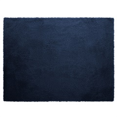 Tapete em Poliéster Melody 100x140cm Azul - Jolitex