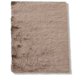 Tapete em Poliéster New Agra 150x100cm Bege - Casa Etna