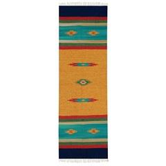 Tapete Indiano em Algodão Kilim Desenho 03 com 200x250cm Colorido - Niazitex