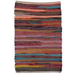 Tapete Laaj Algodão 90x60cm Colorido - Casa Etna