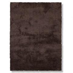 Tapete May Poliéster 150x100cm Marrom - Casa Etna