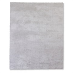 Tapete May Poliéster 200x150cm Cinza Claro - Casa Etna