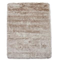 Tapete New Agra Poliéster 200x150cm Creme - Casa Etna