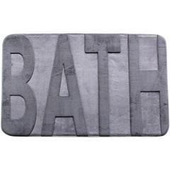 Tapete para Banheiro Bath Cinza  - Casanova