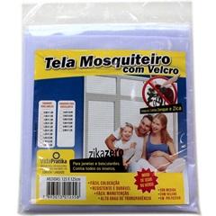 Tela Mosquiteiro em Poliéster com Velcro 155x155cm - Vida Pratika