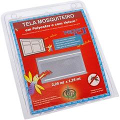 Tela Mosquiteiro em Poliéster Protej com Velcro 225x125cm Branca