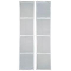 Tela Mosquiteiro para Porta Balcão Prátika Multiflex 217x120cm Branca - Sasazaki