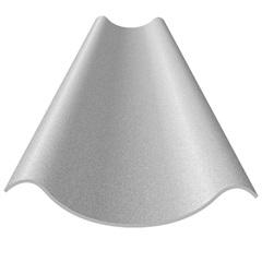 Telha de Fibrocimento Modulada 8mm 460x60cm Cinza - Eternit