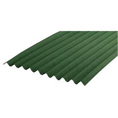 Telha Ecológica Clássica Duo Verde 200x95cm - Onduline