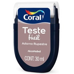 Teste Fácil Adorno Rupestre 30ml - Coral