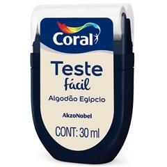 Teste Fácil Algodão Egipcio 30ml - Coral