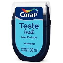 Teste Fácil Azul Feriado 30ml - Coral