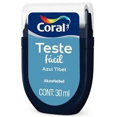 Teste Fácil Azul Tibet 30ml - Coral