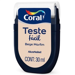 Teste Fácil Bege Marfim 30ml - Coral