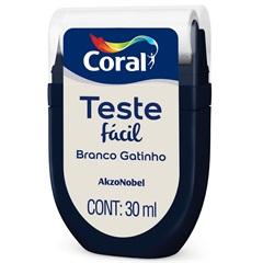 Teste Fácil Branco Gatinho 30ml - Coral