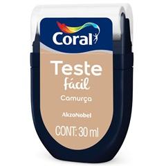 Teste Fácil Camurça 30ml - Coral