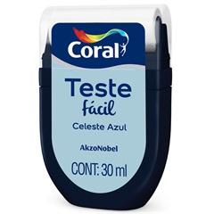 Teste Fácil Celeste Azul 30ml - Coral