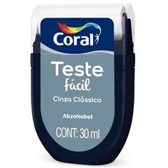 Teste Fácil Cinza Clássico 30ml - Coral