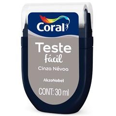 Teste Fácil Cinza Névoa 30ml - Coral