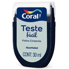 Teste Fácil Folha Cinzenta 30ml - Coral