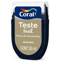 Teste Fácil Folha de Alcachofra 30ml - Coral
