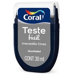 Teste Fácil Imensidão Cinza 30ml - Coral