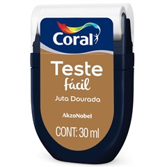 Teste Fácil Juta Dourada 30ml - Coral