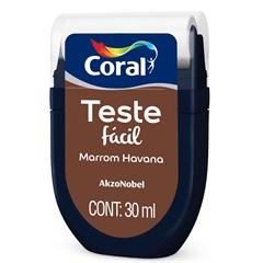 Teste Fácil Marrom Havana 30ml - Coral
