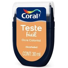 Teste Fácil Ocre Colonial 30ml - Coral