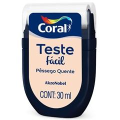 Teste Fácil Pêssego Quente 30ml - Coral