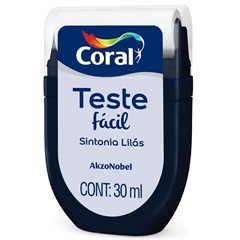 Teste Fácil Sintonia Lilás 30ml - Coral