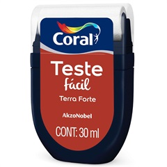 Teste Fácil Terra Forte 30ml - Coral