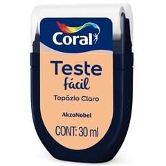 Teste Fácil Topázio Claro 30ml - Coral