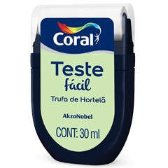 Teste Fácil Trufa de Hortelã 30ml - Coral