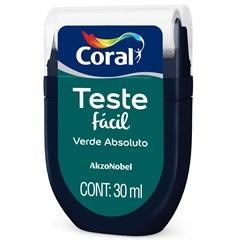 Teste Fácil Verde Absoluto 30ml - Coral