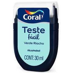 Teste Fácil Verde Riacho 30ml - Coral