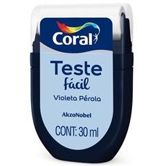 Teste Fácil Violeta Pérola 30ml - Coral