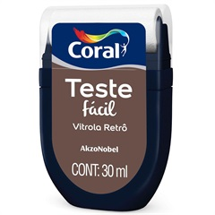Teste Fácil Vitrola Retrô 30ml - Coral