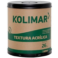 Textura Acrílica Rústica Branco Neve 26kg - Kolimar