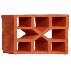Tijolo Vazado Diagonal Xis 25x18x7cm - Martins