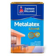 Tinta Acetinada Premium Metalatex Litoral Terracota 18 Litros - Sherwin Williams
