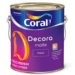 Tinta Acrílica Decora Fosco Palha 3,6 Litros - Coral