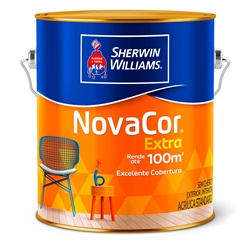 Tinta Acrílica Fosca Novacor Extra Marfim 3,6 Litros - Sherwin Williams