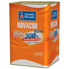 Tinta Acrílica Fosca Novacor Extra Vermelho Cereja 3,6 Litros - Sherwin Williams