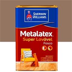 Tinta Acrílica Fosca Premium Metalatex Super Lavável Avelã 18 Litros - Sherwin Williams