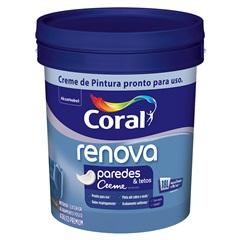 Tinta Acrílica Fosca Renova Branco 18 Litros - Coral